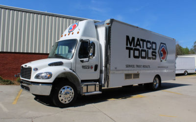 22′ Freightliner M2 – Matco Tools, new generation shelves