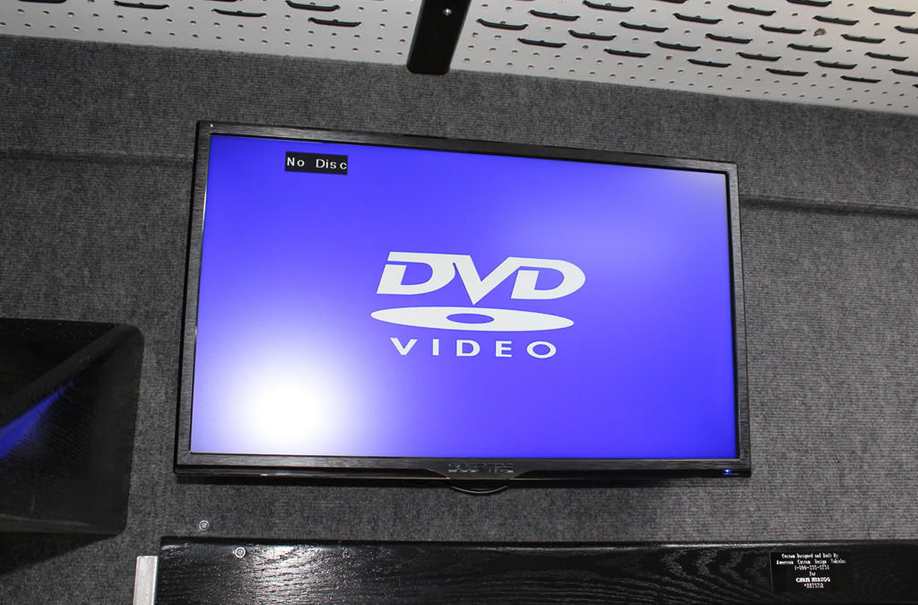 Monitor – 24 Inch TV and DVD Player
