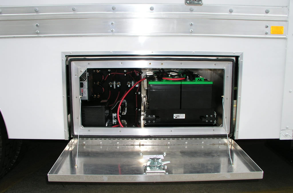 Exterior Electrical Storage Box