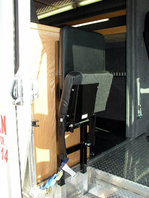 18' Freightliner Matco New Distributior MT45 Interior Pictures - ACDV
